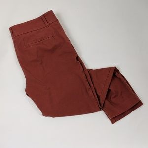Ann Taylor LOFT high rise skinny trousers